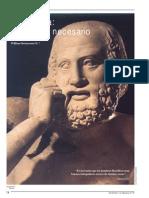 La Filosofía. Un Pensar Necesario