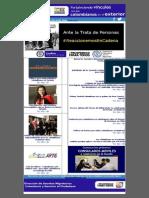 Boletín 14 Reaccionemos en Cadena, Capacitación, Cultura y Servicios Para Los Colombianos en El Exterior