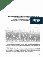 El Primer Franquismo Desde La Optica De La Historia Actual.pdf
