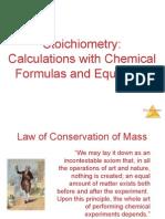 Equations & Stoichiometry 3