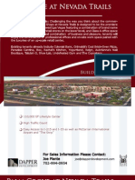 Las Vegas Retail For Lease Palm Grove at Nevada Trails Brochure