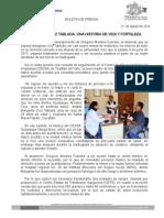 31 de Agosto de 2014 Margarita Cruz Tabalada, Una Historia de Vida y Fortaleza