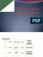 MUNAKAHAT (Materi Fiqih)