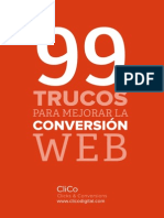 99 Trucos Mejorar Conversion Web CliCo Gg