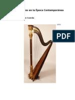 Instrumentos en La Época Contemporánea