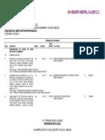 11 - Catálogo de Conceptos