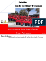 Boletin Nº1 Subdireccion de Gestion y Personas 2010