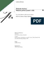 Ludovico Ariosto - Orlando Furioso (Vol.I)