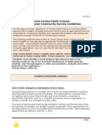 Community Service and Duval County Public Schools