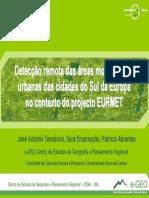 2006 Jornadas E-geo Deteccao Remota Das Areas Morfologicas Urbanas Do Sul Da Europa