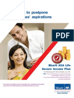 Secure in Come Plan Brochure