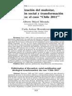 Mayol , Azócar. Politización Del Malestar, Movilización Social y Transformación Ideológica El Caso Chile 2011