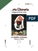 Carta Literaria No 13