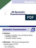 1.Basic 2D & 3D Transformation