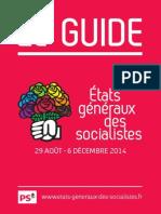 Etats généraux des socialistes - Le guide du participant