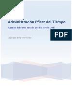 M1 Administración Eficaz Del Tiempo