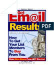 6 Keys to Getting More Email Results