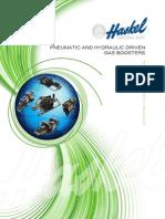 Haskel Catalogo dei Gas Boosters