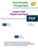 Lesson 4 Racisim and Sport 3.2