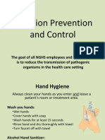 Infection Prevention/Control Training