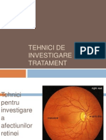Tehnici de Investigare Si Tratament