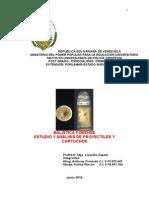 Estudio y an Lisis de Proyectiles y Cartuchos