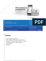 Impacts on 3GPP Architecture When Enabling IPv6 Service