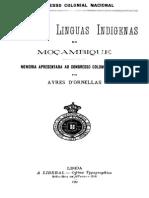 Aires de Ornellas Raças e Linguas Indigenas Mozambique