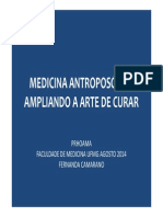 Dra. Maria Fernanda Medicina Antroposófica 2014-2