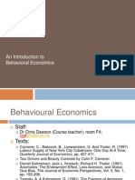 L6 - An Introduction to Behavioural Economics (Cgd)