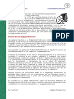14. Funcion Del Psicologo Penitenciario Actual - IV Unidad