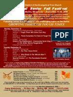 NCD Fall Festival Poster 2008