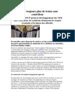 Toujours Plus de Trains Sans Controleur 1 Septembre 2014