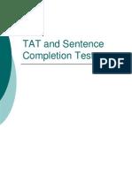 C512 TAT& Sentences
