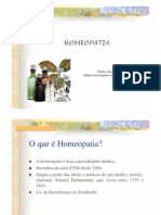 Aula Homeopatia Dr Thales Onofri de Oliveira PHROAMA PBH