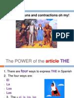 lesson 9 articles nouns contractions pp