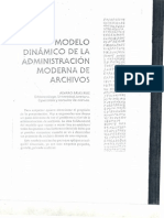 Modelo Dinamico de La Administracion Moderna de Archivos