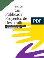 Guia Politicas Publicas y Proyectos de Desarrollo