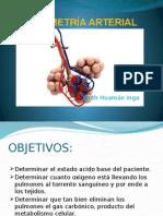 Gasometría Arterial PONENCIA