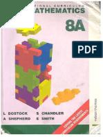 STP National Curriculum Mathematics Revised Pupil Book 8A (9780748724406)