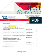 ISA RC51 Newsletter Lssue 27 (January 2013)
