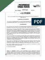 Resolución 1565_2014 Guia Metodologica Planes de Seguridad Vial