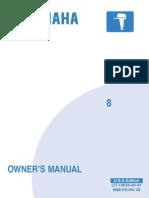Yamaha 8 owner's manual