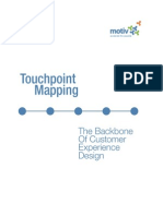 Motiv Touchpoint Mapping Backbone of CX Design
