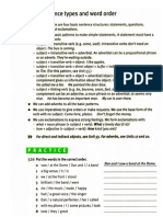 GP INT - Basic Sentence Types & Word Order
