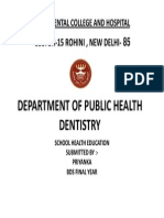 Department of Public Health Dentistry3