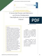 O Acesso das Pessoas com Deficiencia aos Direitos Fundamentais.pdf
