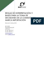 Norma Detallada BIOSUISSE