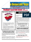 #19 Primary Election Issue #4
