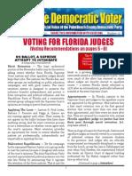 #25 Voting for Florida Judges